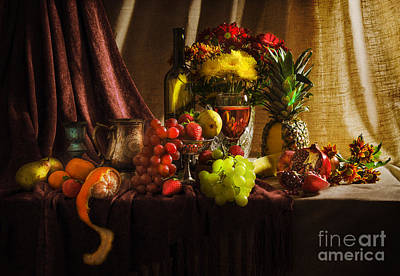 Pear Mixed Media - Feast by Svetlana Sewell