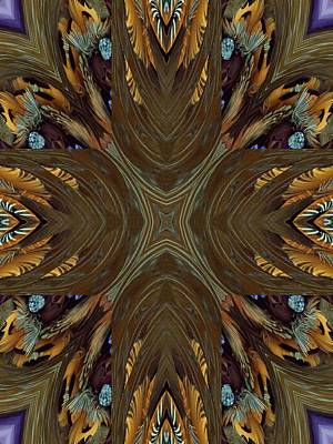 Feather Grace Art Print by Ricky Kendall