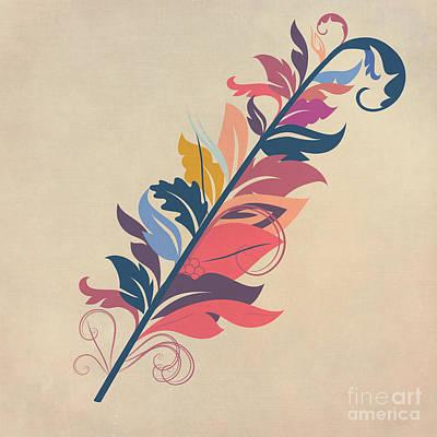 Fantasy Digital Art - Feather by John Edwards