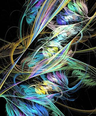 Digital Art - Feather by Kelly Dallas