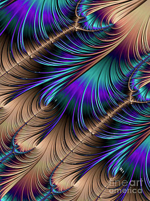 Digital Art - Feather Light by Kathy Kelly