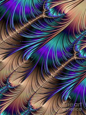 Digital Art - Feather Light by Kathy Kelly