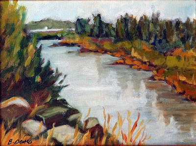 Painting - Feather River by Barbara Oertli