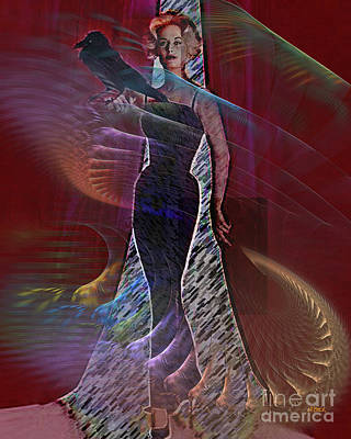 Digital Art - Feathered Friend by John Beck