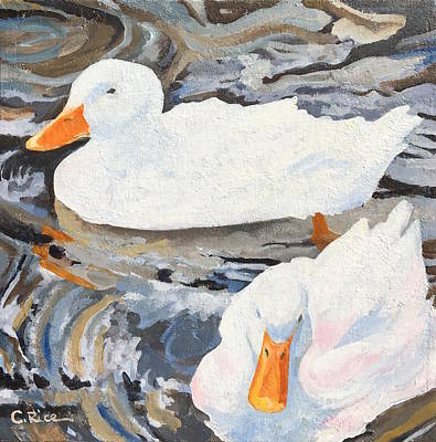 Painting - Feathered Friends by Chris Rice