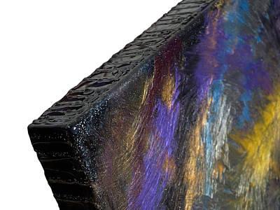 Feathers - Close Up Of Edge Art Print by Paul Tokarski