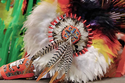 Photograph - Feathers And Beads by Alan Toepfer