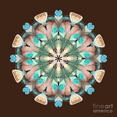 Kaleidoscope Digital Art - Feathers by Mary Machare