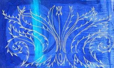 Feathers Original by Nina Bravo