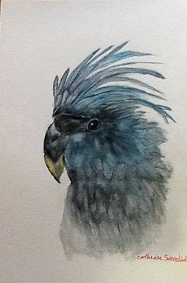 Painting - Feathers Of Blue by Catherine swerediuk