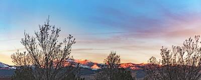 Photograph - Feb Sundown  by Nancy Marie Ricketts