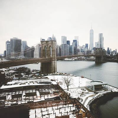 New York City Photograph - February Freeze by Natasha Marco