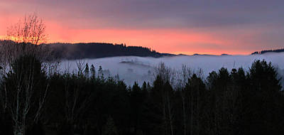 Photograph - February Oregon Sunrise by Katie Wing Vigil