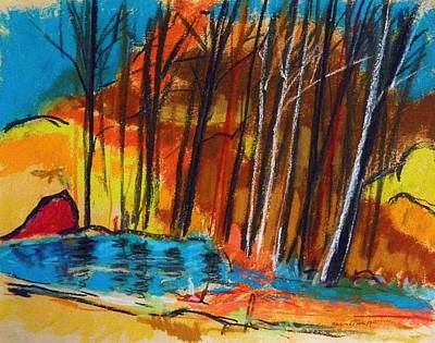 Painting - February Pond by John Williams