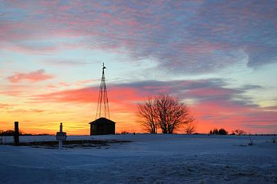 Photograph - February Rise 2 by Bonfire Photography