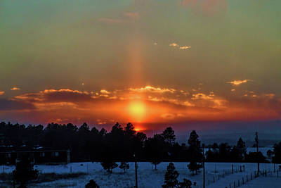 Photograph - February Sunset by Alana Thrower