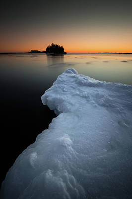 Gichigami Photograph - February Thaw  by Jakub Sisak