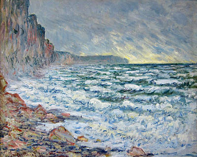 Painting - Fecamp, Seaside by Claude Monet