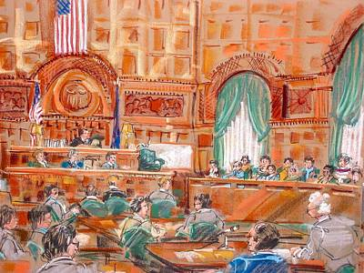 Painting - Federal Court by Les Leffingwell