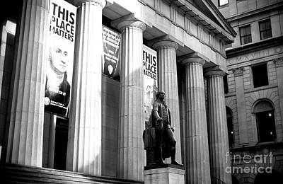 Photograph - Federal Hall by John Rizzuto