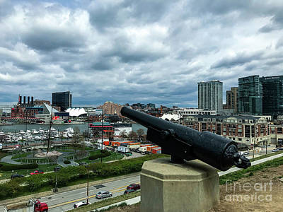 Photograph - Federal Hill Park Cannon by Jason Sullivan