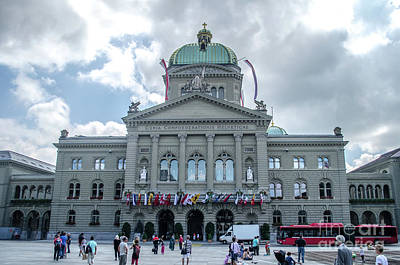 Photograph - Federal Palace In Bern by Michelle Meenawong