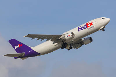 Photograph - Fedex Airplane by Dart and Suze Humeston