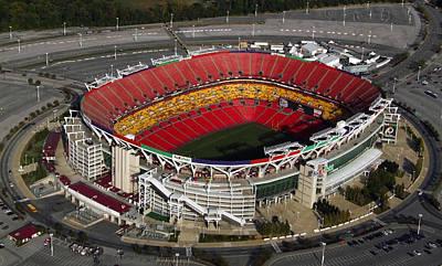 Fedex Field Redskins Stadium Print by Steve Monell