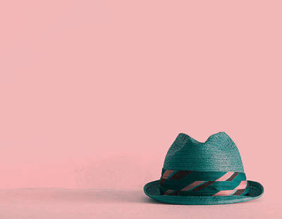 Mans Hat Photograph - Fedora  by Colleen VT