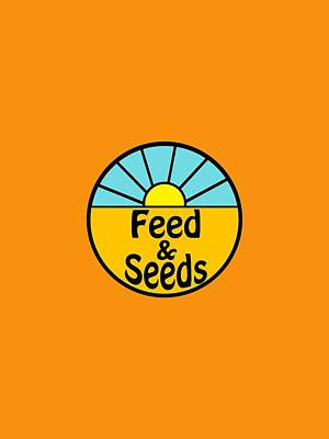 Digital Art - Feed And Seeds by Bill Owen