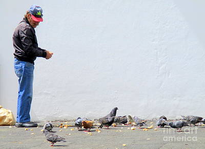 Photograph - Feed The Birds by Randall Weidner
