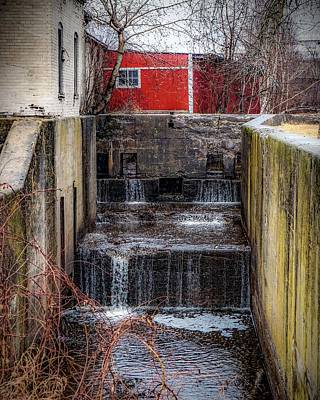 Photograph - Feeder Canal Lock 13 by Kendall McKernon