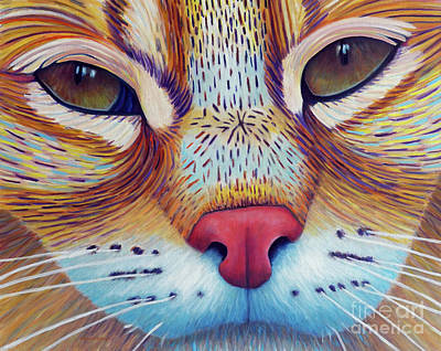 Bobcat Painting - Feel It by Brian Commerford