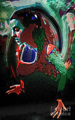 Dancefloor Mixed Media - Feel It by Johnny Armstrong