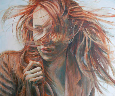 Painting - Feel The Wind by John Neeve
