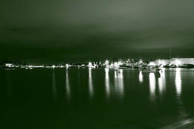 Feelin Green On The Seas Art Print by Bradley Nichol