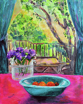 Painting - Feeling At Home by Haleh Mahbod