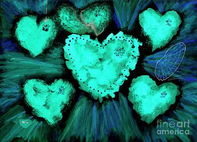 Sore Digital Art - Feeling Blue by Dominique Fortier