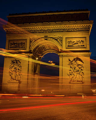 Photograph - Feeling Blue In Paris by Miguel Winterpacht