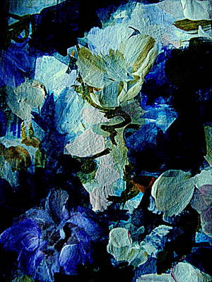 Painting - Feeling Blue by Nancy Kane Chapman