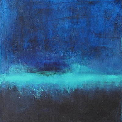 Painting - Feeling Blue by Nicole Nadeau