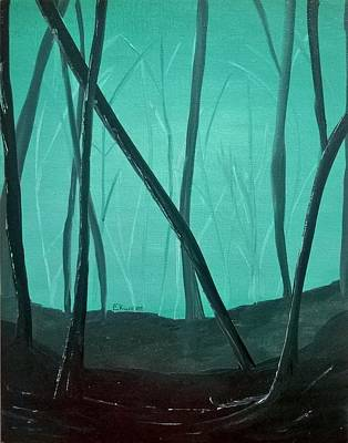 Acrylic Painting - Feeling Foggy by Stephanie Ekwere