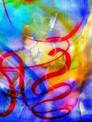 Creativity Mixed Media - Feeling Inspired by Mimulux patricia no No