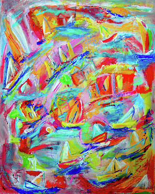Painting - Feeling Like A Child by Haleh Mahbod