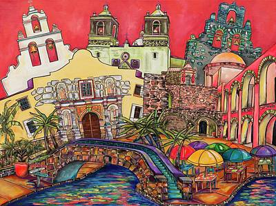 Painting - Feeling Like A Tourist by Patti Schermerhorn