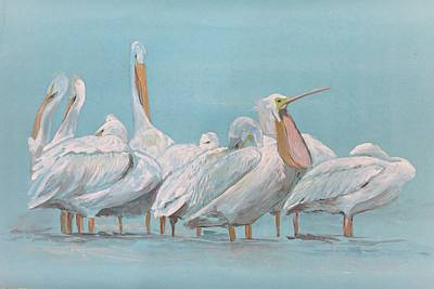 Painting - Feeling Sleepy by Khalid Saeed