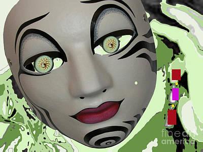 Feeling Slightly Greenish Today Art Print by Tammera Malicki-wong