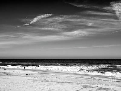 Photograph - Feeling Small At Seaside Heights by John Rizzuto