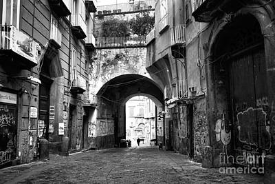 Photograph - Feeling Small In Naples by John Rizzuto