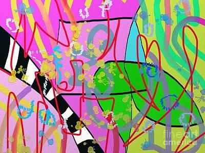 Digital Art - Feeling The Spring by Chani Demuijlder